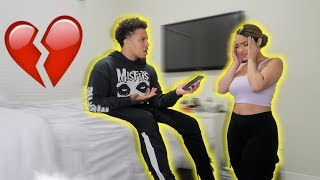 MY EX WANTS ME BACK PRANK ON GIRLFRIEND!! ** SHE CRIES! **