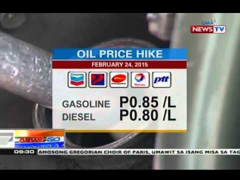 NTG: Oil price hike, ipinatupad na naman ngayong Martes