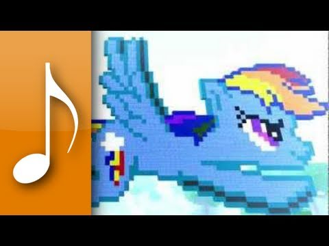 ♪ Minecraft – My Little Pony: Friendship is Magic Theme Song – Note Blocks