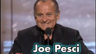 Joe Pesci Salutes Robert De Niro at AFI Life Achievement Award