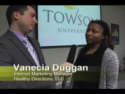 Towson University's e-Business Association 2010 e-Business Networking Expo