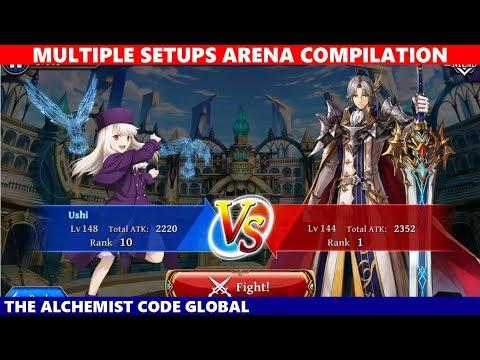 Multiple Setups Arena Compilation Version 2 Update 1st Week (The Alchemist Code Global)