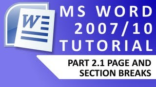 MS Word 2007/2010 tutorials