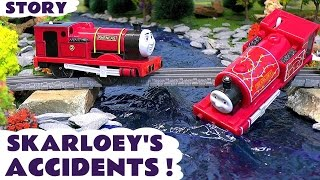 Thomas and Friends Toy Trains for kids - Skarloey's Accidents - Train Toys for children ToyTrains4u