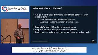 0-60 with PowerShell on AWS by Andrew Pearce & Steve Roberts