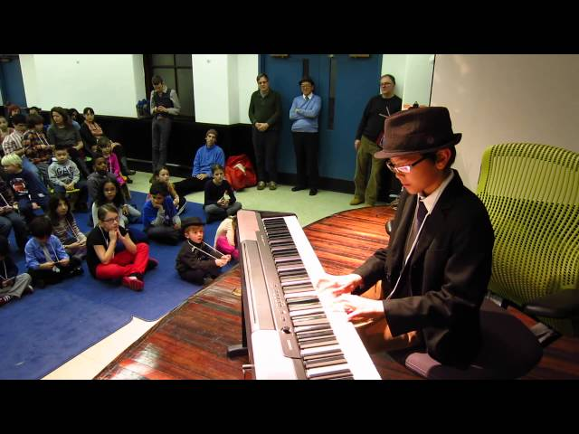 Alejandro Winter Piano Recital 2013