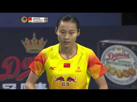 2015 Denmark Open - QF - P.V. Sindhu vs Wang Yihan