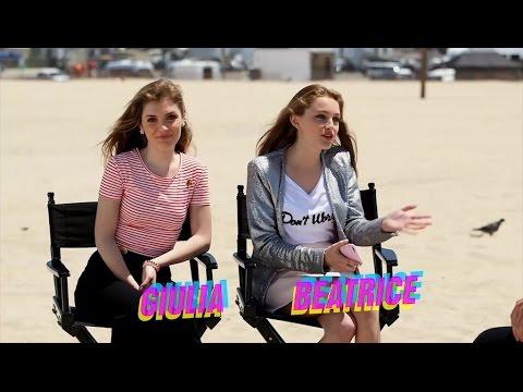 RDMA 2016 - Beatrice e Giulia di Alex & Co. intervistano Lauren Taylor di Best Friends Whenever
