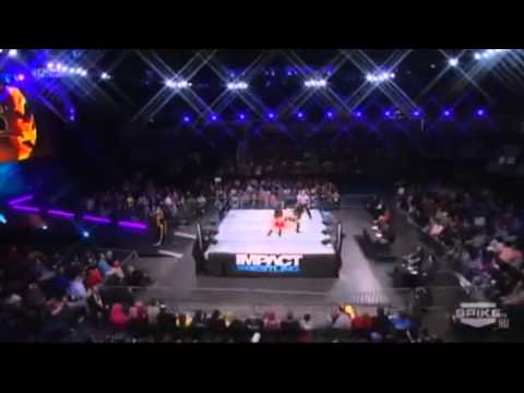 Madison Rayne Vs Gail Kim (c) - Knockouts Championship Match - Genesis 2014