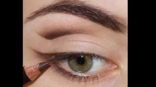 Макияж глаз с разъемом