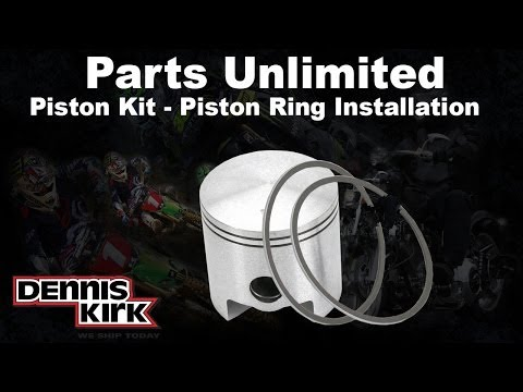 How to Install Snowmobile Piston Rings: Parts Unlmited Piston Kits