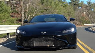 The Aston Martin Vantage is a Sinister Business Suit
