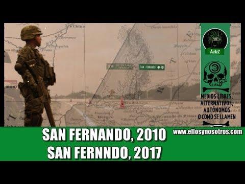 San Fernando, Tamaulipas  7 años después.