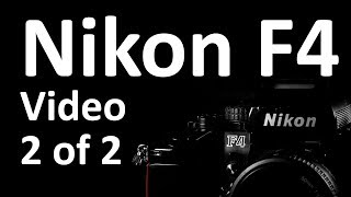 Nikon F4 Video Instruction Manual 2 of 2