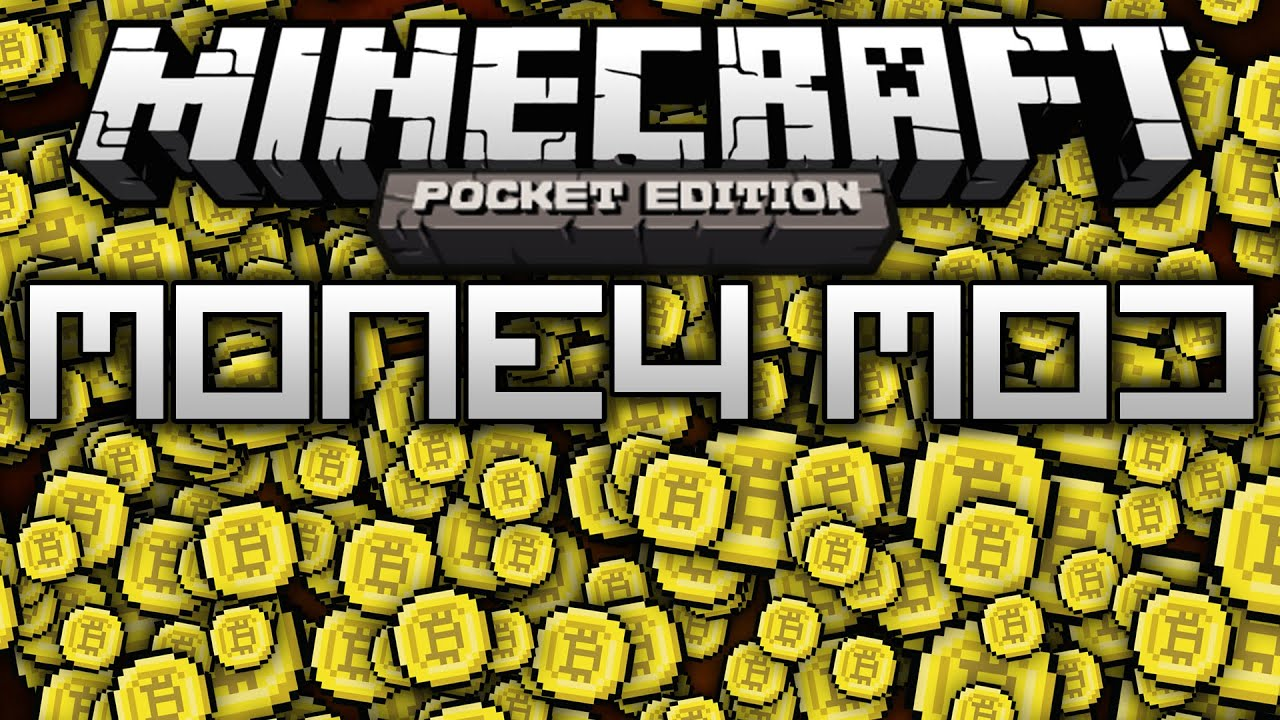 how to make money in minecraft pocket edition