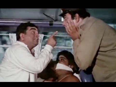 Bombay To Goa Funny Scenes - Iska Muh Kyu Band Hai? - Mukri & Jr.mehmood video