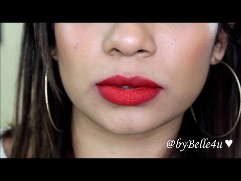 My 18 MAC Lipstick Collection + Swatches & Try On | byBelle4u