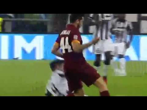 manolas kostas vs alvaro morata aggression --  fight