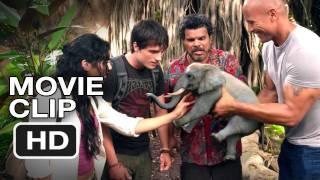 Journey 2: The Mysterious Island #1 CLIP - Tiny Elephant - Dwayne Johnson Movie (2012) HD