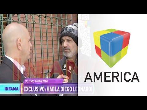 El mundo del revés: Diego Leonardi consiguió una orden de restricción