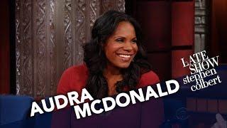 Audra McDonald Got Some Flack From President Obama