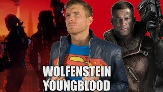 WOLFENSTEIN: YOUNGBLOOD TRAILER REACTION | SK Reacts - #E32018