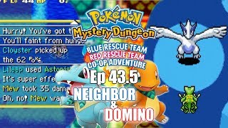 EP 43.5; OH NO! I WAS PREPARED! - Pokémon Mystery Dungeon: Blue/Red Rescue Team Co-Op w/ Neighbor