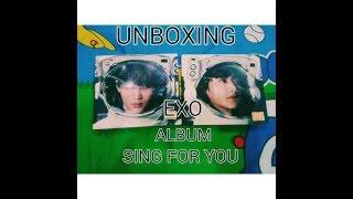 UNBOXING EXO WINTER ALBUM
