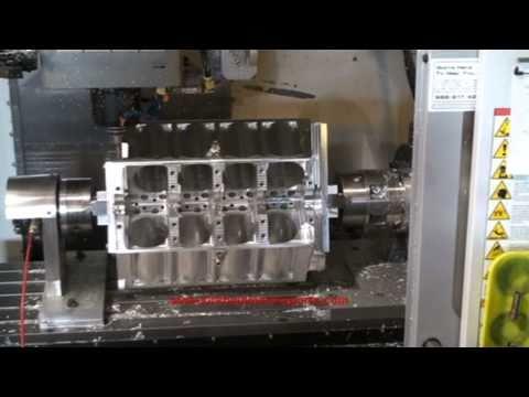 Kirkham Motorsports University CNC Billet Aluminum 427 FE Engine Block 1 of 3