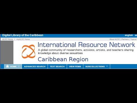 Caribbean LGBTIQ history on the Digital Library of the Caribbean