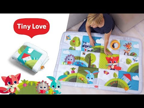 Mata Interaktywna Gigant - Zabawa Na łące, Tiny Love