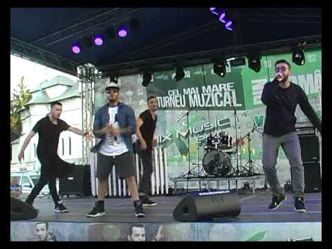 Speak & Alex Velea - A lu' Mamaia @ Pascani ( 29.06.2014 )