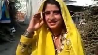Beautiful Girl signing Saraiki Song