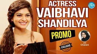 Next Nuvve Movie Actress Vaibhavi Shandilya Exclusive Interview - Promo   Talking Movies With iDream