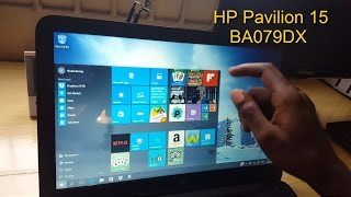 HP Pavilion 15 BA079DX TouchScreen Laptop