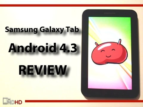 Samsung Galaxy Tab p1000 Android 4.3 (cm10.2) review