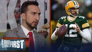 For Packers to win the Super Bowl, Rodgers will need one sensational game | NFL | FIRST THINGS FIRST