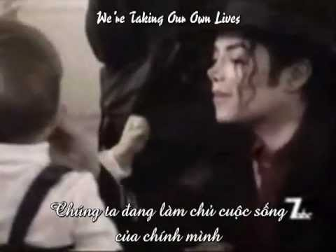 Vietsub - Lyrics We Are The World - Michael Jackson solo version...