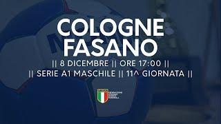 Serie A1M [11^]: Cologne - Fasano 24-25