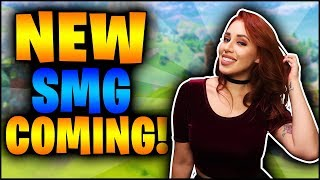 🔴Fortnite: HYPE for the New SMG Coming SOON! Decent GIRL AF 💖 🤗Fam Friendly 📽️1080p 60fps✅