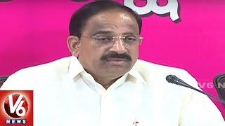 Thummala Nageswara Rao Press Meet | Slams Opposition Over Farmer Problems