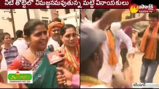 Vinayaka Nimajjanam Celebrations in Karimnagar || Sakshi TV