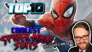 Top 10 Coolest Spider-Man Suits w/ Greg Miller
