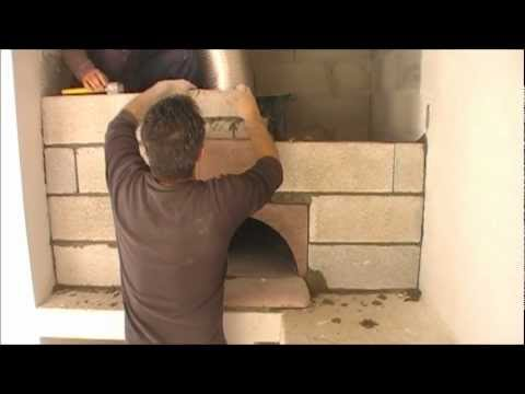 montage du four bois ephrem le pizzaiollo how to built a wood fired oven youtube. Black Bedroom Furniture Sets. Home Design Ideas