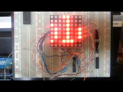 Led Matrix 8x8 Arduino & Max7219