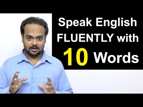 Speak English Fluently Like a Native Speaker with Just 10 WORDS! - Gonna, wanna, gotta, gimme etc.