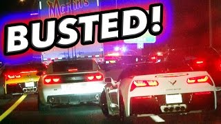 Supra, Viper AND GT-R - BUSTED @ 160+MPH!