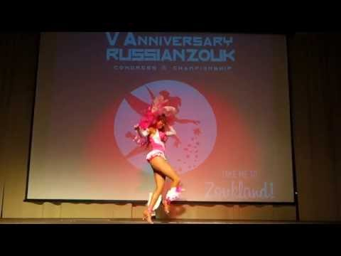 00078 RZCC2016 Sara Pallares in performance ~ video by Zouk Soul