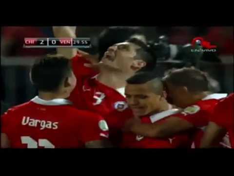 Los 29 de goles chile rumbo al mundial Brasil 2014