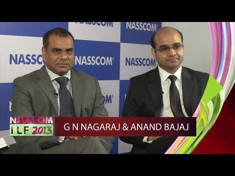 Anand Bajaj,Executive VP Yes Bank & G.N.Nagaraj,Business Technology Leader- CIO Panel